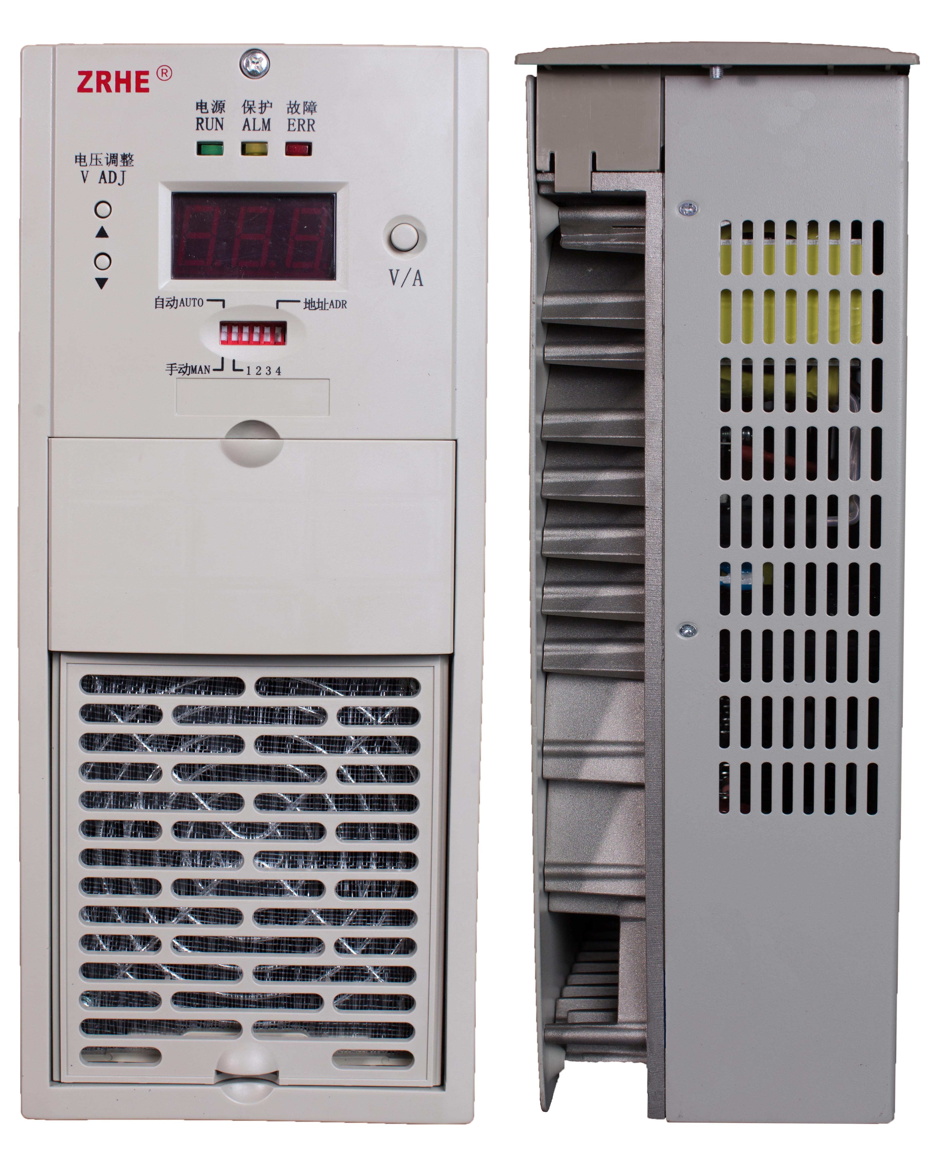 采用无源pfc技术,功率因数高,符合dl/t 781-2001中三相谐波标准;前级